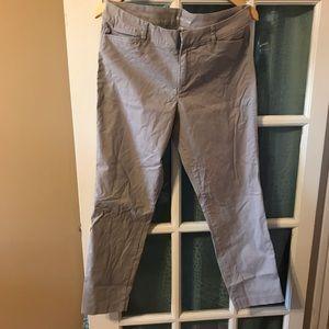 Gray pixie pants NWOT